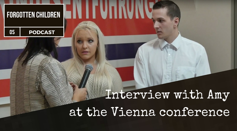 Amy at the Vienna conference